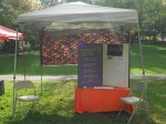 Spiritual Spectra tent at Baltimore Pagan Pride Day