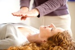 photo of woman receiving Energy Healing