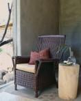 Chair Sitting in Corner by Window