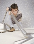 photo of vacuuming