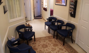 Holistic Maryland Downstairs Waiting Room