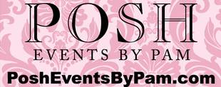 Posh Events by Pam logo