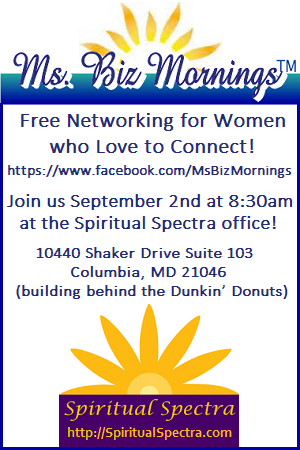 Ms. Biz Mornings hosted at Spiritual Spectra office