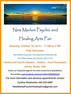 New Market Psychic Healing Arts Fair