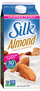 photo of Silk Almond Milk Original Unsweetened