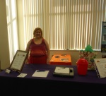 photo of Spiritual Spectra booth at Ladies Night Out 2015