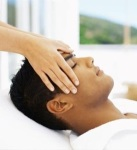 image of man receiving Energy Healing