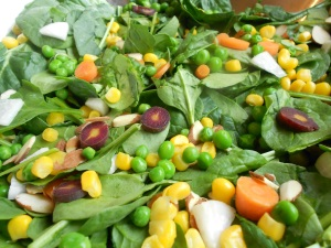 Spring Salad by Jennifer Garcia (vegan version)