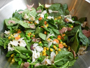 Spring Salad by Jennifer Garcia