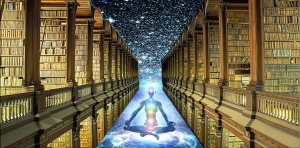 image that envisions the Hall of Akashic Records