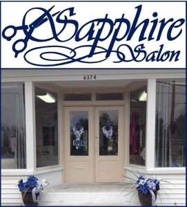 image of exterior of Sapphire Salon in Clarksville