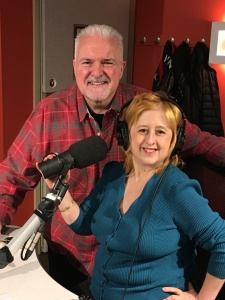 Photo of Jennifer Garcia on Mix 107.3 Jack Diamond Morning Show