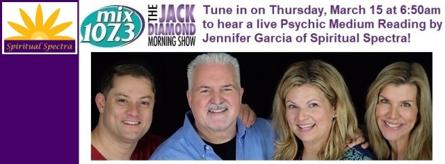 Mix 107.3 invites Jennifer Garcia onto the Jack Diamond Morning Show