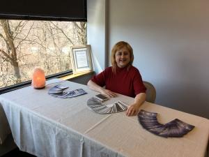 Photo of Jennifer Garcia offering a Spiritual Consultation