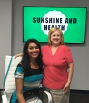 Photo of Dr. Nikita Patel with Jennifer Garcia