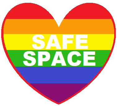 LGBTQIA SAFE SPACE