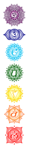 The seven chakras.